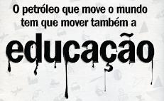 50% DO PRÉ-SAL PARA A EDUCAÇÃO