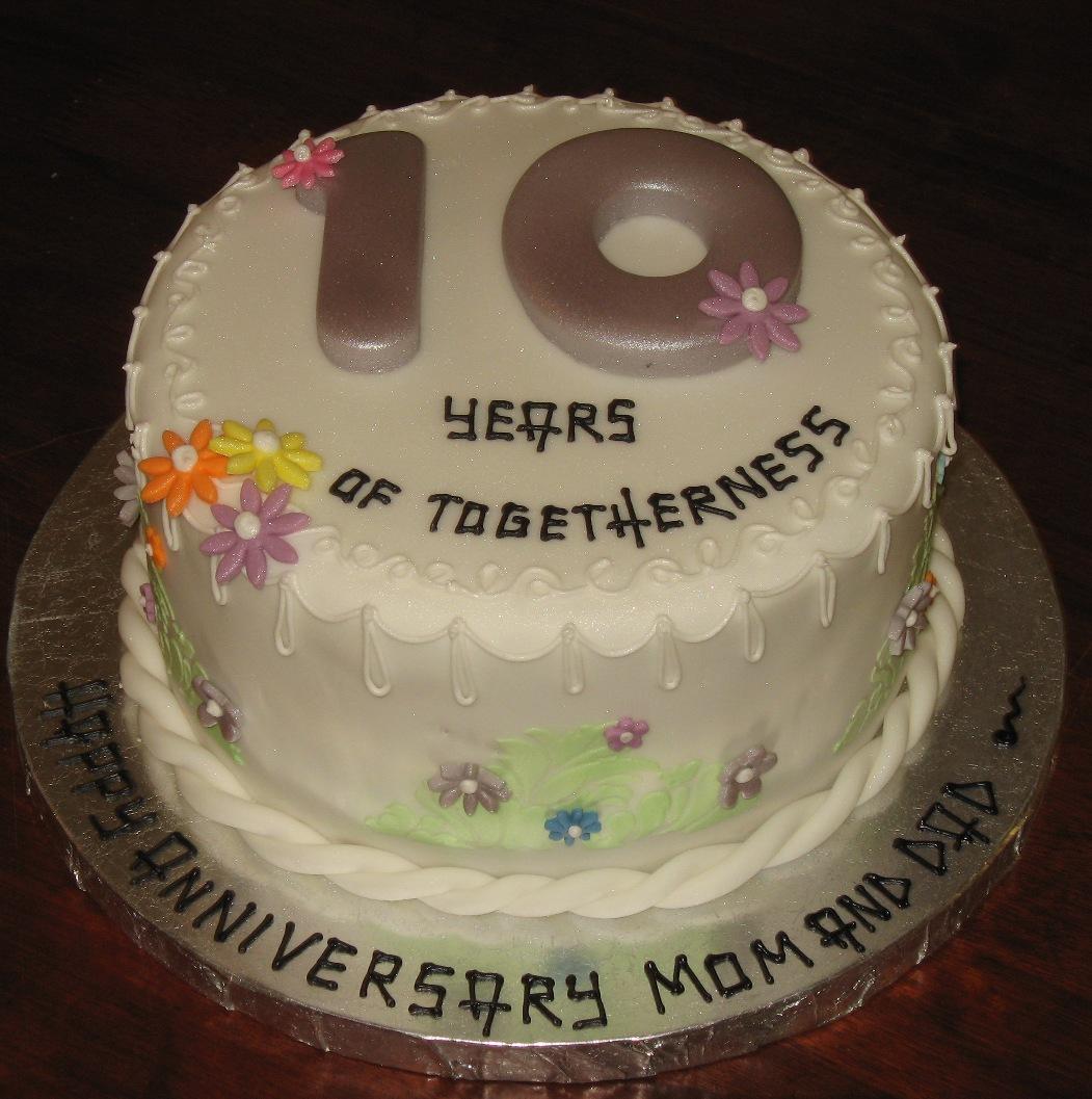 Let Them Eat Cake 10th Anniversary cake