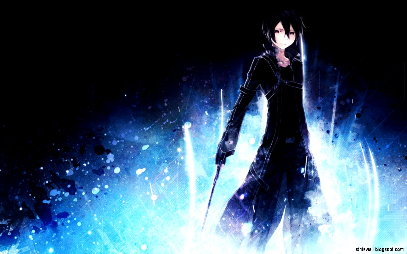 DeviantArt More Like Sword Art Online   Kirito Wallpaper HD by