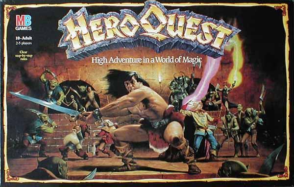 [FINALIZADA]. Miércoles 1 Agosto. Heroquest Heroquest