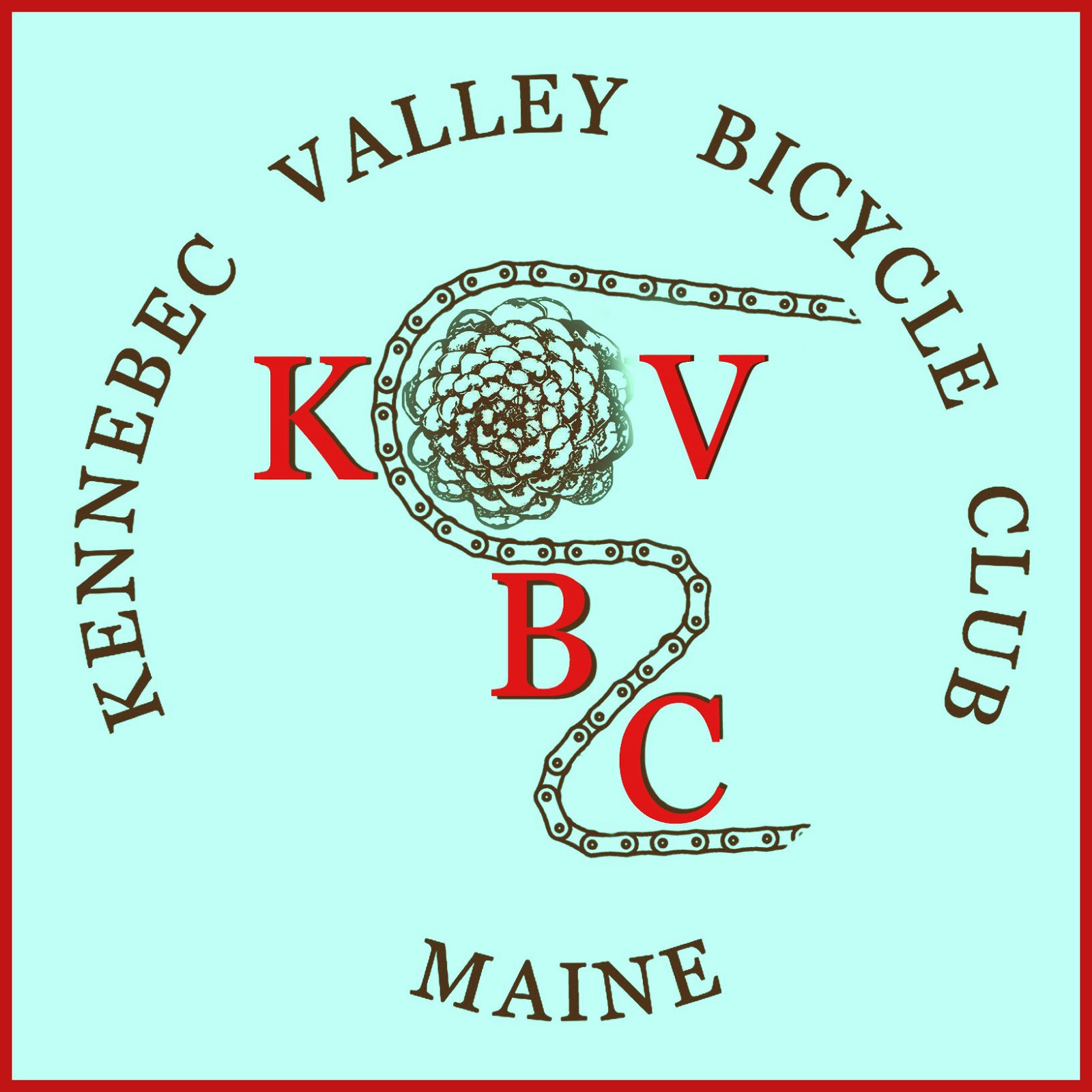 Kennebec Valley Bicycle Club Logo