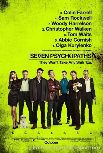Film Seven Psychopaths 2012 (Bioskop)