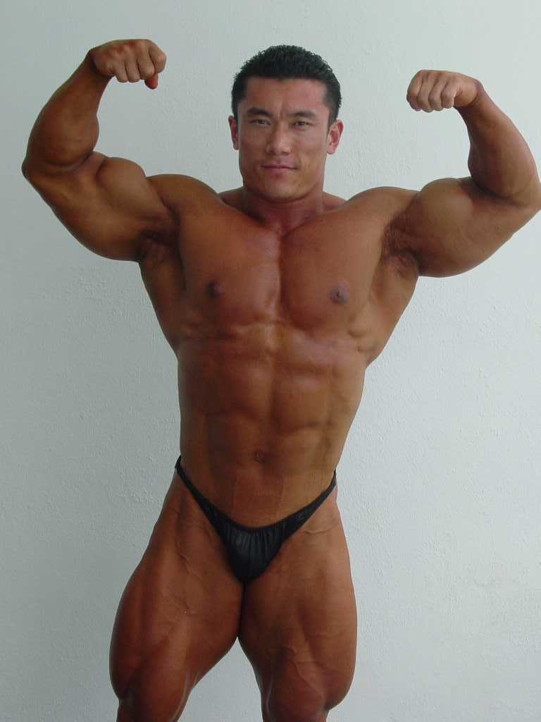 korean bodybuilder