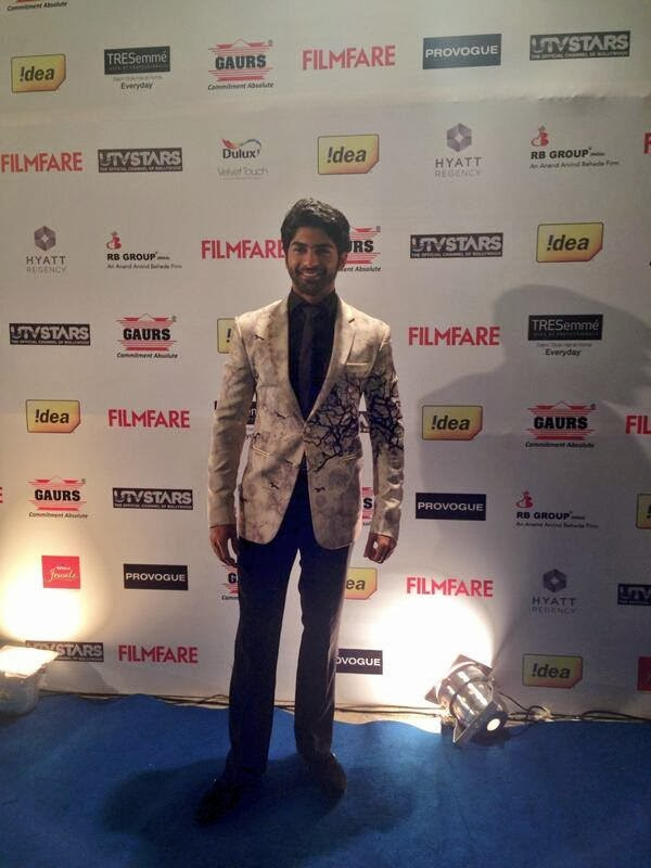Ayan Mukerji arrives at the Filmfare Awards party