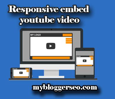 Youtube video responsive Code