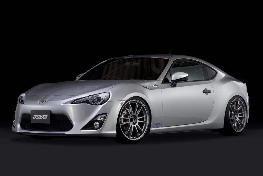 japoński sportowy samochód, coupe, piękny, design, 日本車 スポーツカー チューニングカー, Toyota GT86