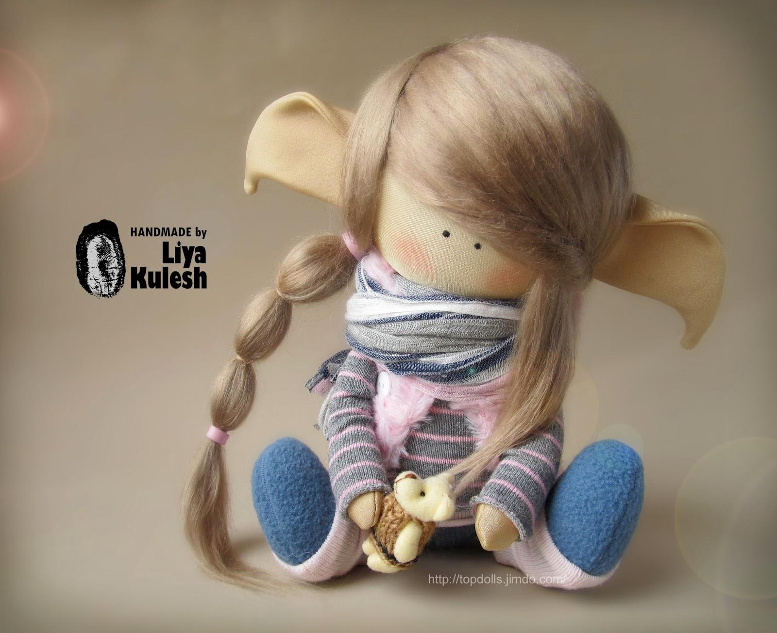 Кукла эльф своими руками 65