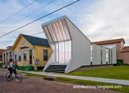 Modelo de casa industrializada económica de diseño original en Estados Unidos