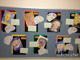 Multiple Intelligences, gwhizteacher, brain mapping, MI display board
