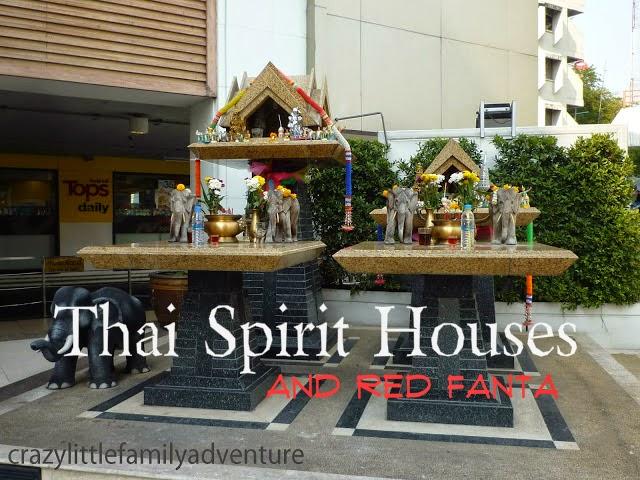 bangkok, thailand, spirit houses
