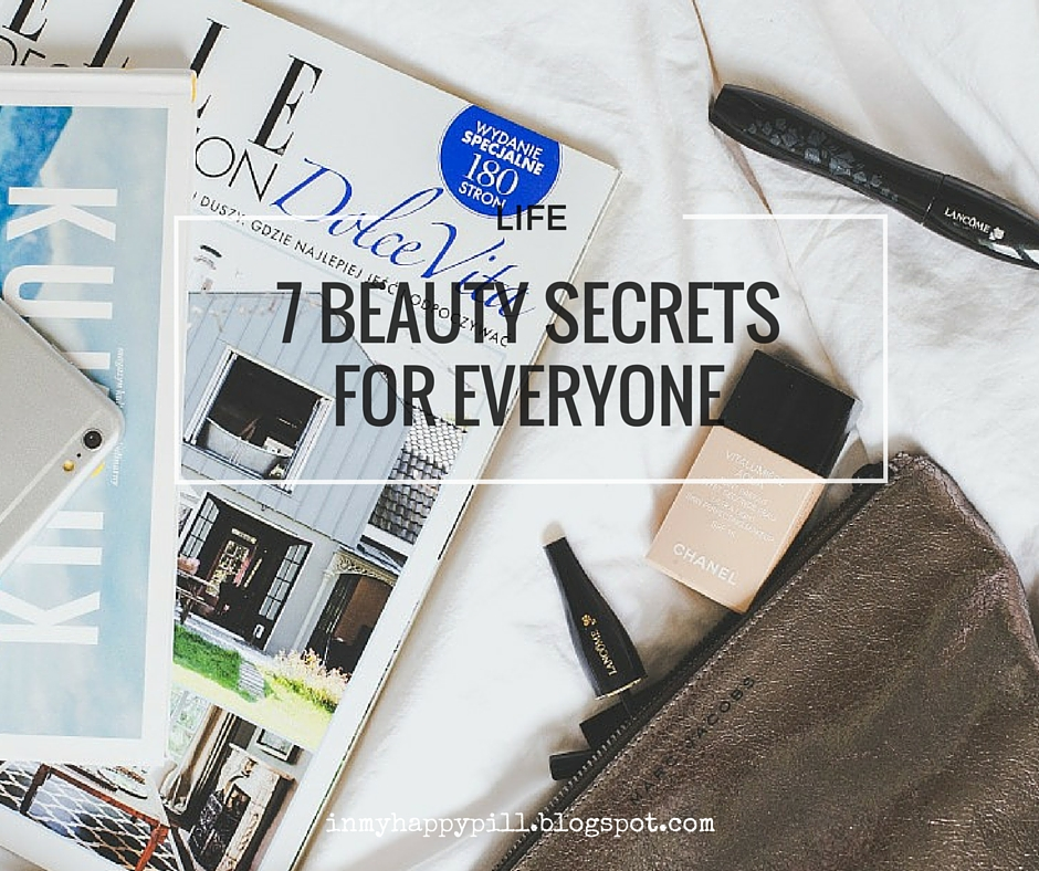 Beauty Secrets to keep yourself young and beautiful
