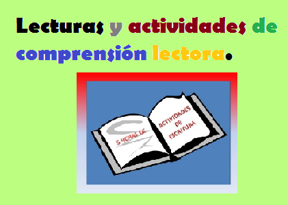 Comprensión Lectora 3º ciclo