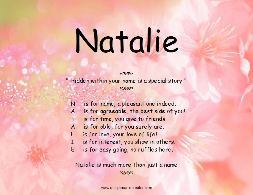 Meaning, origin and history of the name Natalia - Behind ...