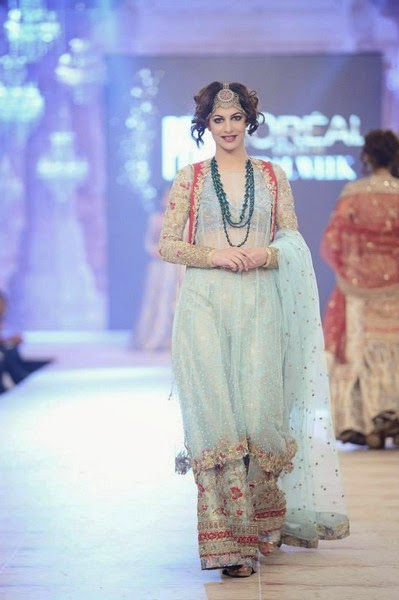 Zara Shahjahan-A Folk Tale Formal Fancy Suits at PLBW 2014