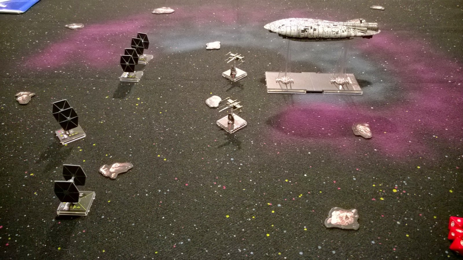 battle of hoth rebel transport x-wing imperial cordon