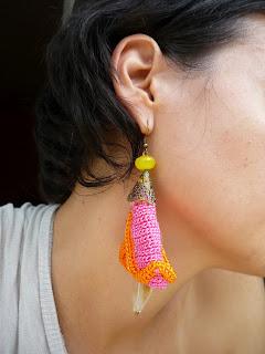 Cercei handmade