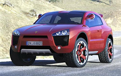 2009 Lamborghini SUV Preview
