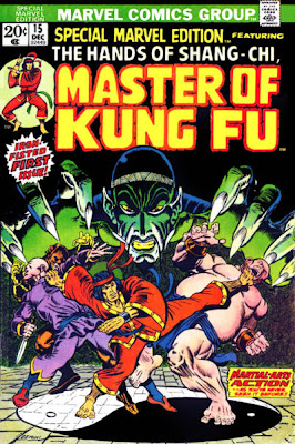 Shang-Chi, Master of Kung Fu, Special Marvel Edition #15, Jim Starlin cover