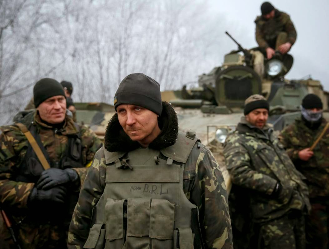 Ukr Soldiers in Dbaltseve facing extinction