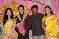 Celebraties at Actor Bharat n Jessy Wedding Reception Photos+%252871%2529 Actor Bharath n Jessy Wedding Photos