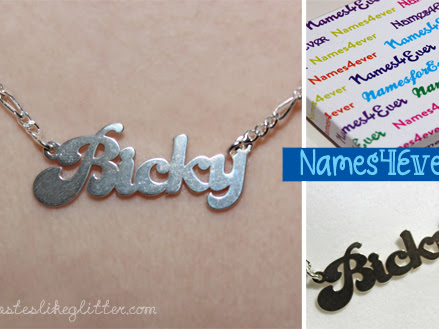 Names4Ever Custom Jewellery.