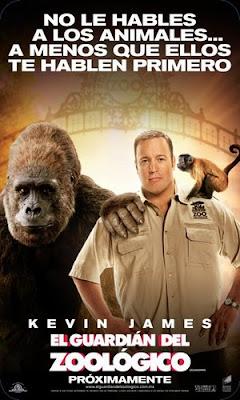 zookeeper+Intl+Poster+%25283%2529 El guardian del zoologico (2011) Español Latino