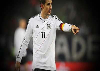 Klose: Finish my career in the German national team after the World Cup