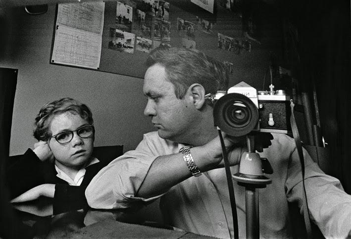 Rafael Sanz Lobato y su hijo