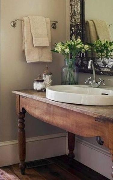 Mueble Baño Original:Quiero dar a mi mueble de baño un toque original