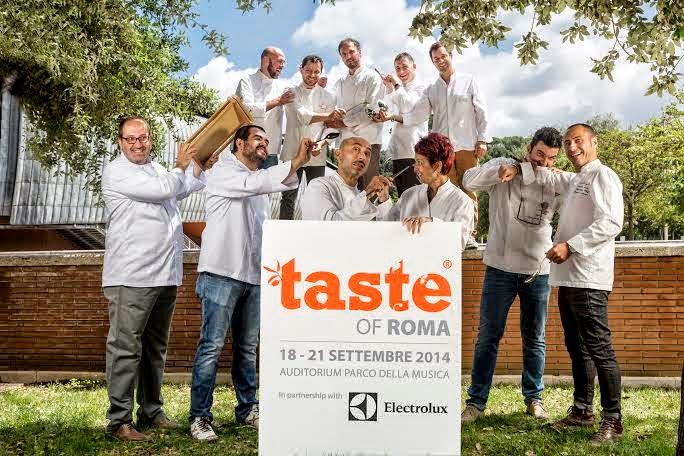 taste of roma. dal 18 al 21 settembre 2014
