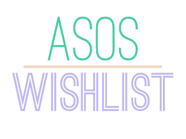 ASOS Wishlist pastel font