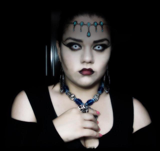 Maquiagem da Akasha, A Rainha dos condenados, Vampire makeup