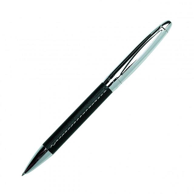 Ballpoint Pen On Leather1