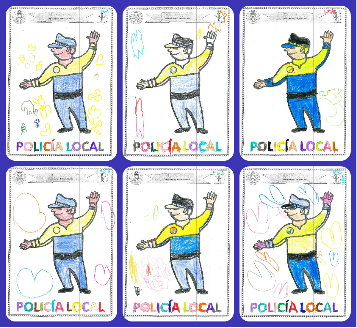 UN CIELO DE ILUSIONES: POLICIAS