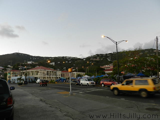 Downtown Charlotte Amalie Hi! It's Jilly