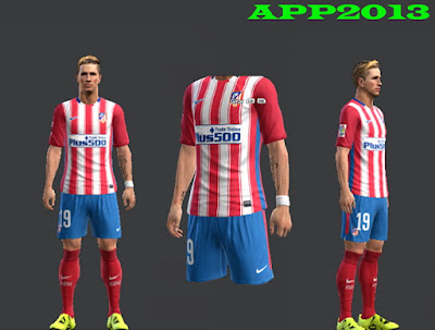 PES 2013 Atletico Madrid 2015-16 Kits by APP2013