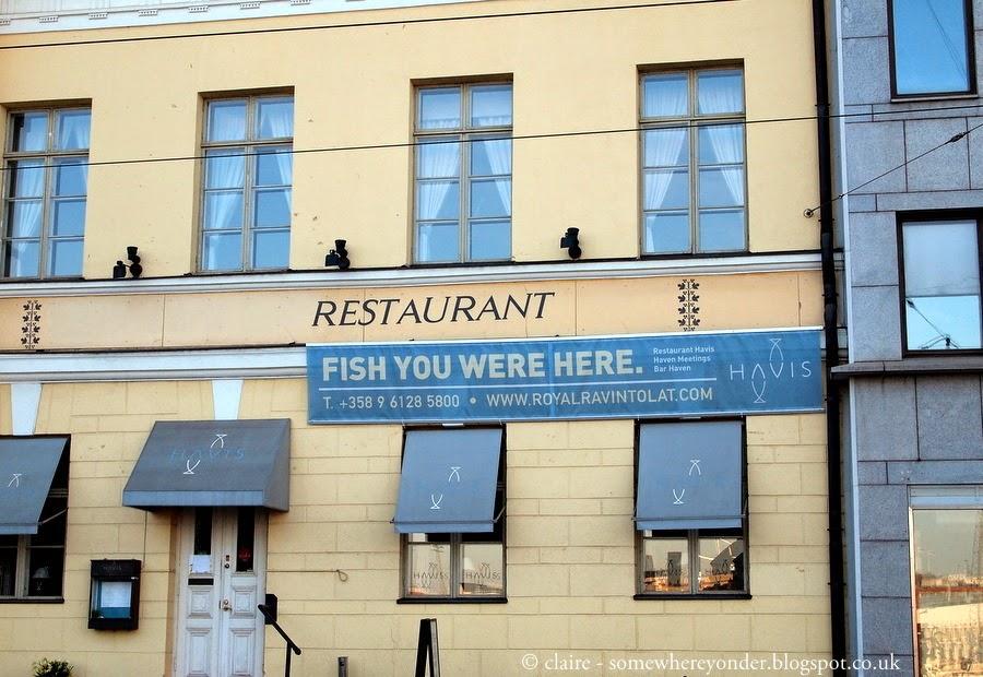Fish restaurant - Helsinki, Finland