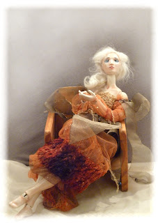 hand crafted porcelain ball jointed doll
