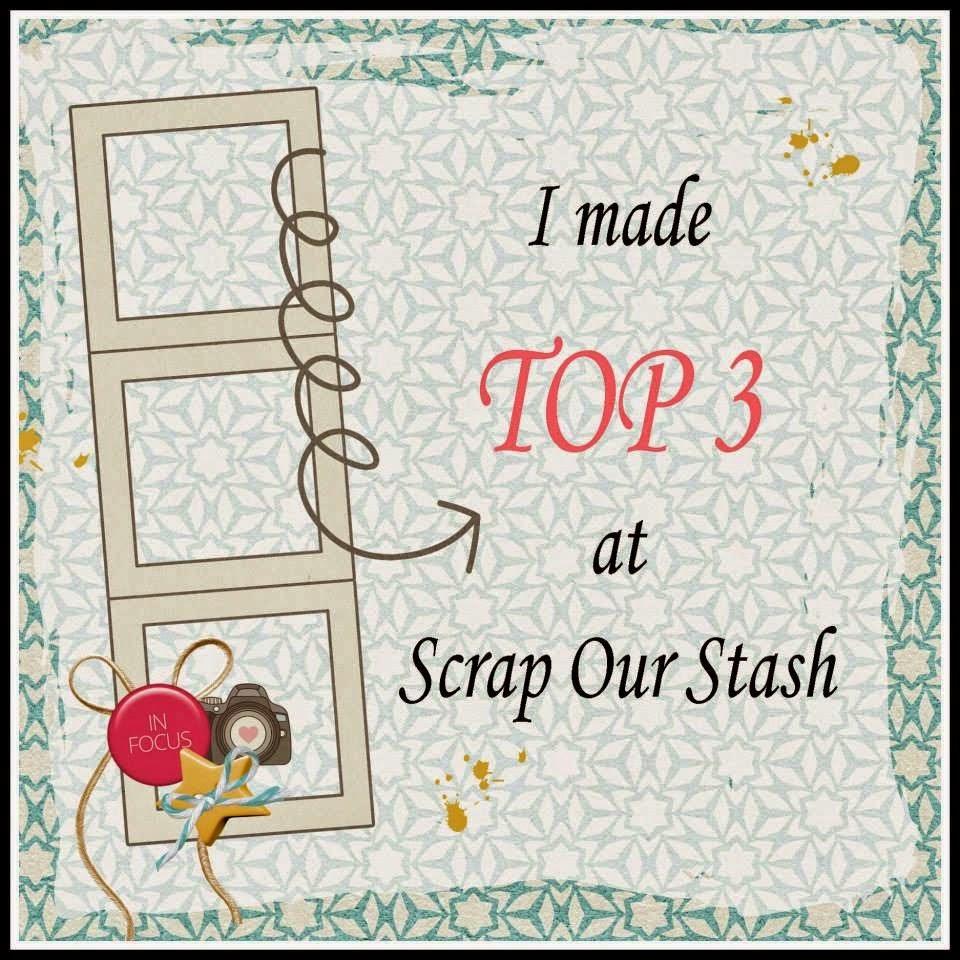 Nov 2014 TOP 3 at Scrap Our Stash!