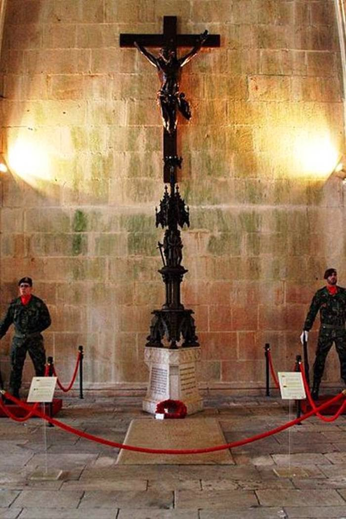 Monument of the Unknown Soldier in the Batalha Monastery, Portugal
