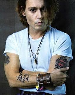 Johnny Depp Tattoos - Celebrity Tattoo Ideas