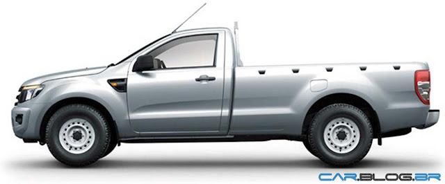 Nova FOrd Ranger 2013 Cabine Simples XL