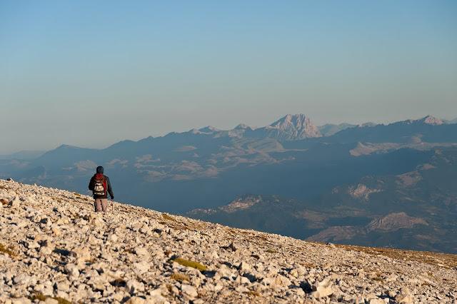 Massiccio del Gran Sasso visto dal Monte Amaro