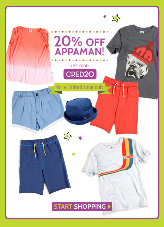 Appaman Baby and Kids Clothing Sale