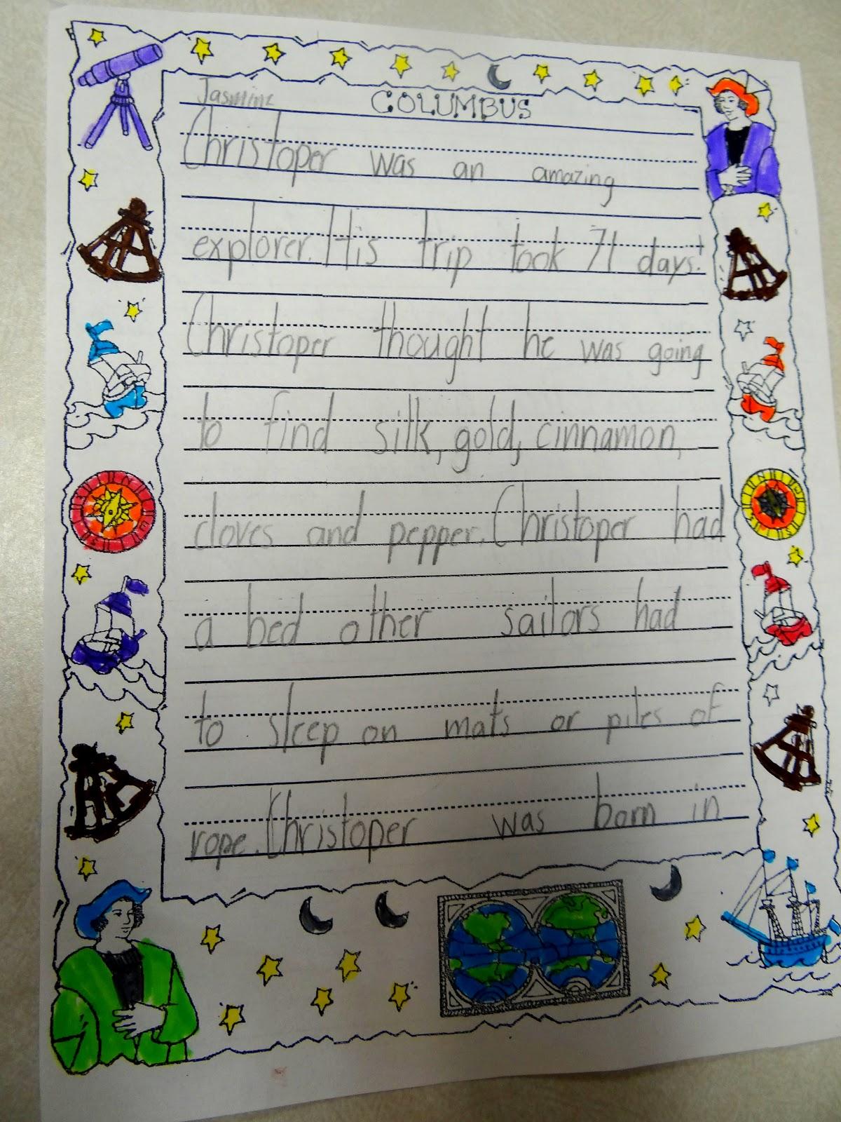 patties classroom christopher columbus activities