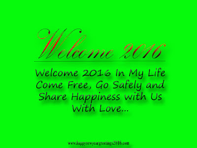 Welcome 2016 HD Wallpapers With Quotes Free Download