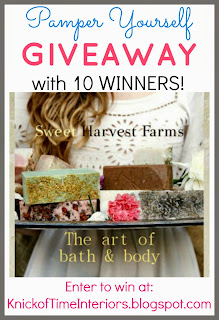 Sweet Harvest Farms Handmade Soap Giveaway at Knick of Time