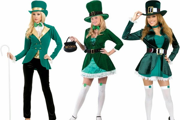 Leprechaun St. Patricks's Women Costume