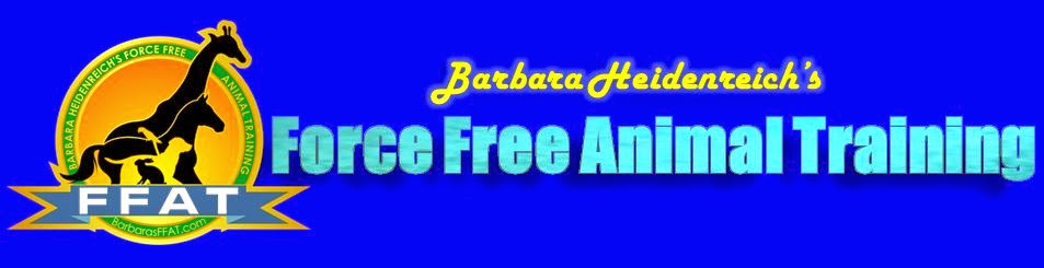 Barbara's Force Free Animal Training Talk