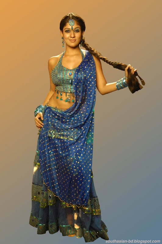 Nayantara In Super Kannada Movie Hot Navel Show Photos Pics navel show